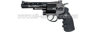 Револьвер ASG Dan Wesson 4'' Black 4,5 мм (17176)