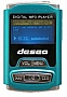 MP3 плеер TakeMS Deseo 4Gb turquoise (TMS4GMP3-DESEO-T)