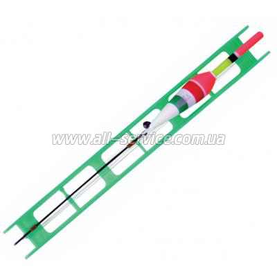 Оснастка поплавочная Lineaeffe Fluorocarbon VERDE (2.0гр осн леска0.16 пов.0.14 крючок№14) (7823020/14)