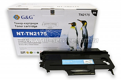 Картридж G&G Brother HL-21x0R/ DCP-7030/ 7032/ MFC-7320 (G&G-TN2175)
