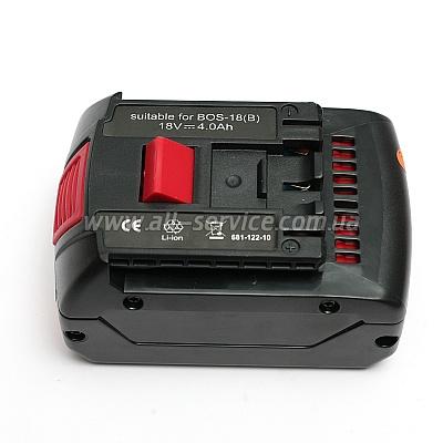 Аккумулятор PowerPlant для BOSH GD-BOS-18B 18V 4Ah Li-Ion (DV00PT0004)