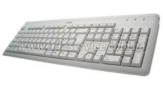 Клавиатура Perixx Periboard-102 USB/ PS2 White (10262)