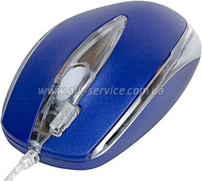 Мышь А4Tech X5-3D-2,blue USB