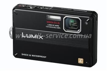 Цифровой фотоаппарат Panasonic LUMIX DMC-FT10 Black (DMC-FT10EE-K)