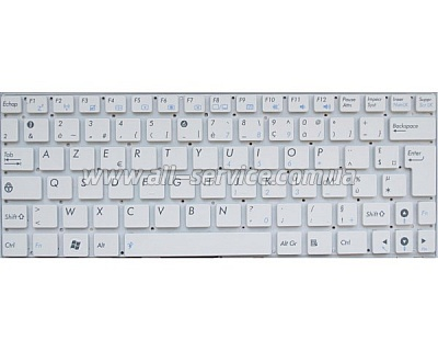 Клавиатура NB ASUS EPC 1000HE 1004Dn T101 WHITE US