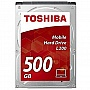 "Винчестер 500GB TOSHIBA HDD SATA 2.5"" 5400RPM/8MB (HDWK105UZSVA)"