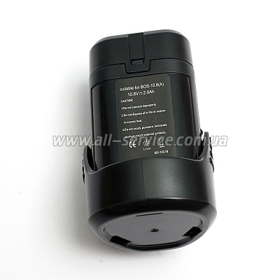 Аккумулятор PowerPlant для BOSH GD-BOS-10.8 10.8V 2Ah Li-Ion (DV00PT0001)