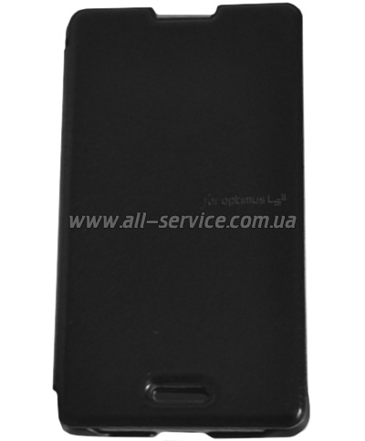 Чехол VOIA LG Optimus L4II Dual - Flip Case (Black)