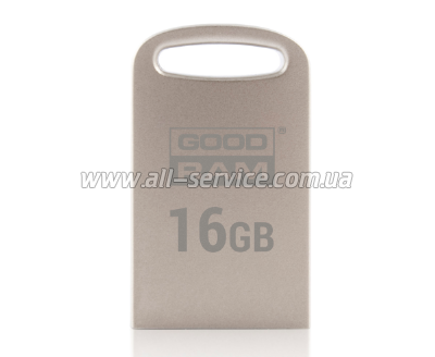 Флешка 16GB GOODRAM POINT Silver
