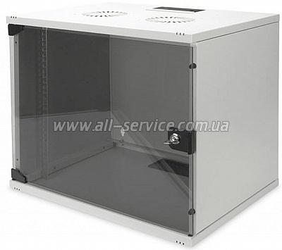 19 Шкаф DIGITUS 9U 540x400 серый (DN-1909-U-S-1)
