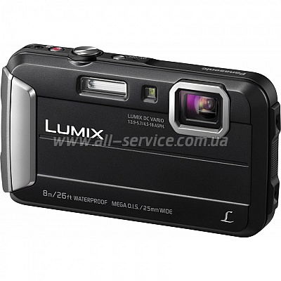 Цифровой фотоаппарат Panasonic Lumix DMC-FT30 Black (DMC-FT30EE-K)