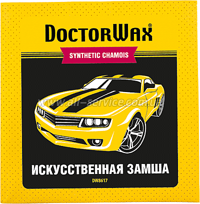 Салфетка Doctor Wax DW8617