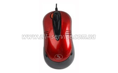 Мышь А4Tech X5-50D-1 red USB