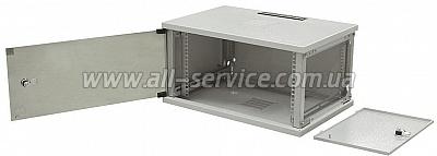 19 шкаф 6U со съемными бок.стенками, глубина 500 (WZ-3615-01-S2-011)