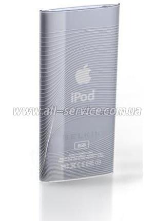 Чехол для iPod nano(4Gen) Belkin Micro Thin (поликарбонат) Flow/ Прозрачно-Волнистый (F8Z421EACNT)