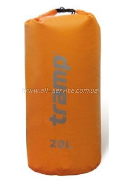 Гермомешок Tramp PVC 20 л Оранжевый (TRA-067.2)