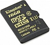 Карта памяти KINGSTON microSDHC 16 Gb UHS-I no ad U3 R90, W45MB/s (SDCG/16GBSP)