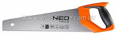 Ножовка по дереву NEO, 400 мм, 7TPI (41-031)