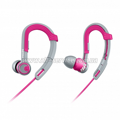 Наушники Philips ActionFit SHQ3300PK/00 Pink