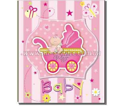Фотоальбом EVG 10x15x200 BKM46200 Baby car pink