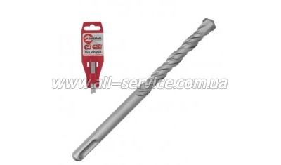 Бур SDS PLUS S4 16*400мм INTERTOOL (SD-1640)