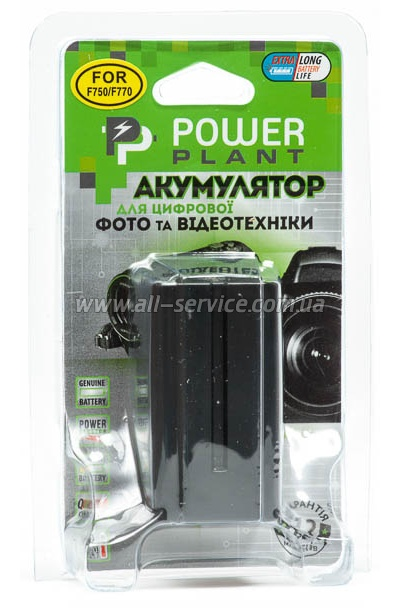 Aккумулятор PowerPlant Sony NP-F750 (DV00DV1032)