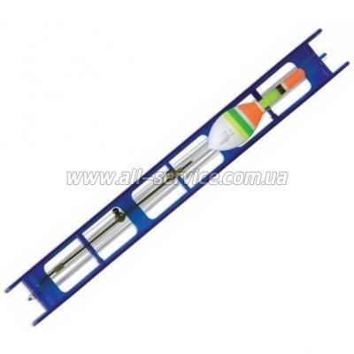 Оснастка поплавочная Lineaeffe Fluorocarbon BLU (2гр осн леска0.16 пов.0.14 крючок№14) (7825020/14)