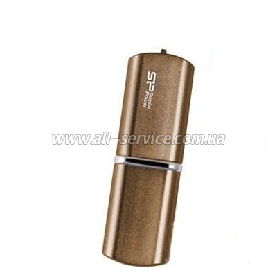 Флешка 4Gb SiliconPower Lux 720 Bronze (mini)