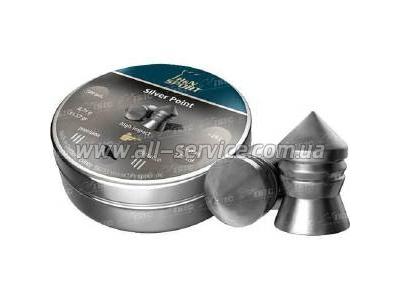 Пули H&N Diabolo Silver Point. 500 шт/уп. 0.75 гр 4.5 мм (92344500005)