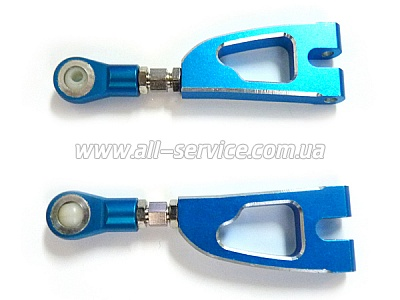 (08070) Blue Alum Rear Upper Arm 2P