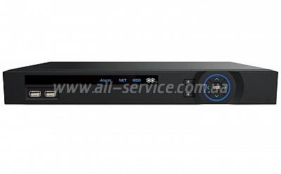 Сетевой видеорегистратор LONGSE 8CH LS-N2008AT