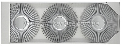 Зеркало EVG BIN 1123250 SILVER set 3