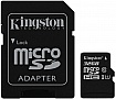 Карта памяти 32GB Kingston microSDHC Class 10 UHS-I + SD адаптер (SDC10G2/32GB)