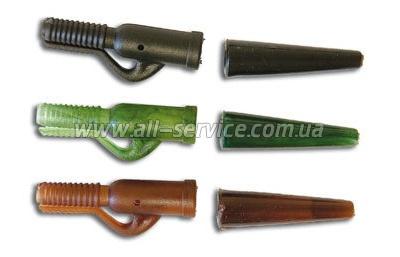 Клипса безопасная Lineaeffe с рез. трубкой для крепления груза 20шт (4990294)