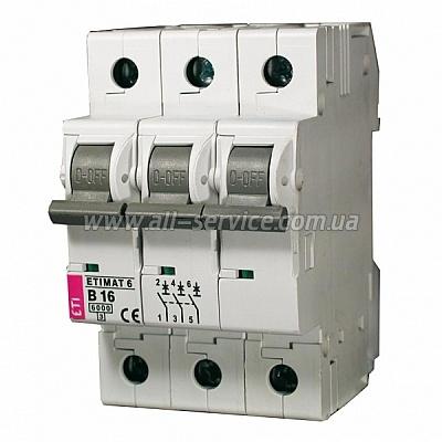 Автоматический выключатель ETIMAT 103p C 50А 6 kA (2135721)