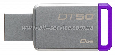 Флешка 8GB Kingston USB 3.1 DT50 (DT50/8GB)