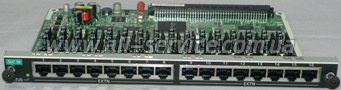 Плата расширения Panasonic KX-NCP1174XJ для KX-NCP1000, 16-Port Single Line Telephone Extension Card