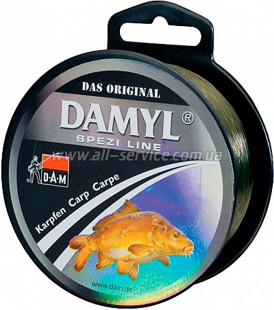 Леска DAM Spezi Line Carp 0,30мм 400м 7,6кг (silt-brown) (3100030)