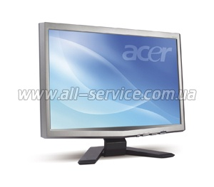 Монитор TFT Acer 20 X-Series X203Wsd 5ms, DVI, Wide, silver/ black (ET.DX3WE.015)