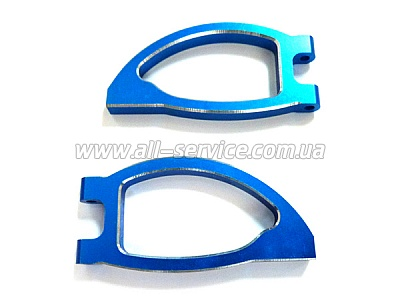 (08036) Blue Alum Front Upper Arm 2P