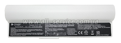 Аккумулятор PowerPlant для ноутбуков Asus Eee PC 900A Series (AL22-703) 7.4V 5200mAh white (NB00000264)