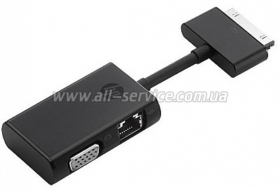 Адаптер HP EliteFolio Ethernet/VGA Adapter (G7U78AA)