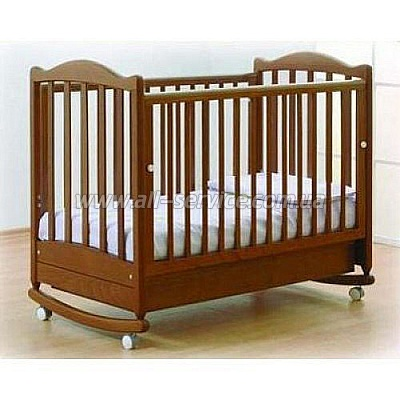 Детская кроватка Baby Italia EURO ANTIQUE WALNUT