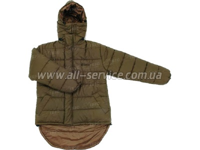 Куртка Snugpak Blizzard Jacket L двусторонняя olive green (8211655604679)