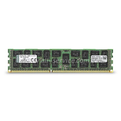 Память 16GB Kingston DDR3 1333Mhz ECC REG low voltage для DELL (KTD-PE313LV/16G)