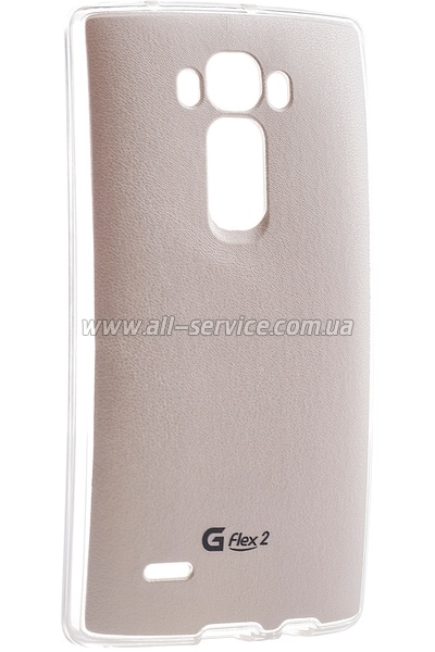 Чехол VOIA LG Optimus G Flex 2 - Jell Skin White