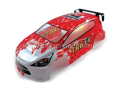 Корпус On Road Car Body Red (28692)