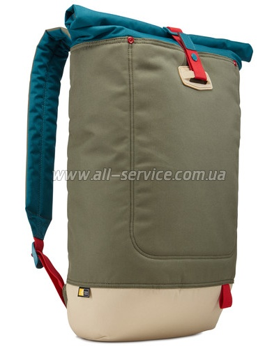 Рюкзак CASE LOGIC Larimer Rolltop LARI114 PetrolGreen