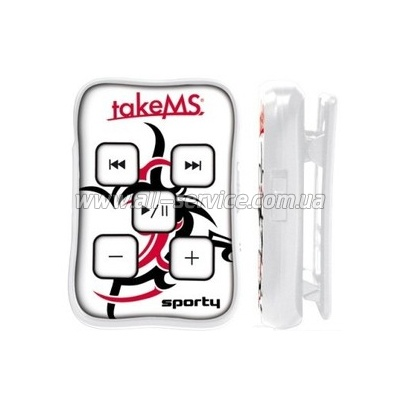 MP3 плеер TakeMS Sporty 4Gb (TMS4GMP3-SPORTY)