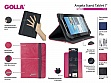"Чехол универсальный 7"" Golla Tablet  folder Stand G1555  Angela Pink"